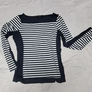 The limited Boat Neck sailor stripe long sleeve